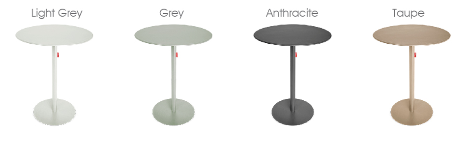 Drop Drover Bar table colours