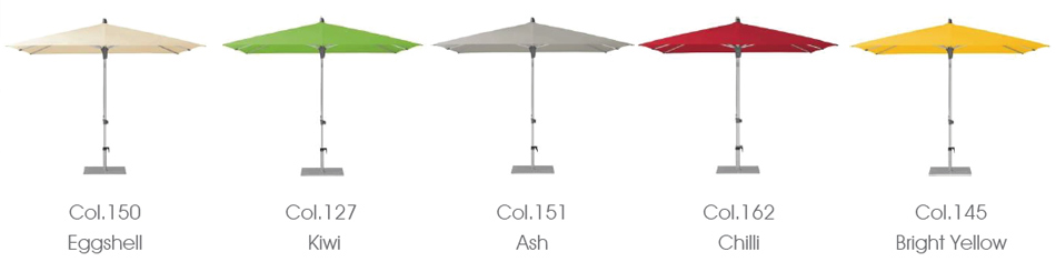 alu smart umbrella colours
