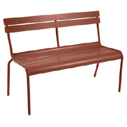 Luxembourg bench backrest
