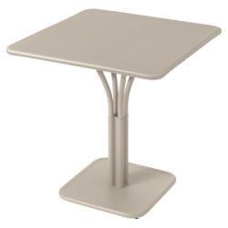 Luxembourg pedestal solid table