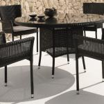 Atlanta bistro chairs and Atlanta dining table